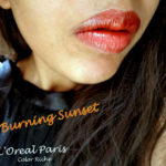 L'OR ELECTRIC Color Riche Lipstick Burning Sunset