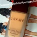 Lakme Invisible Finish Foundation- blast from the past!