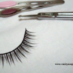 Picture Tutorial – How To Re-size And Trim Your Fake Eye Lashes?