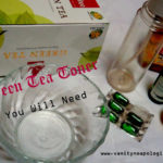 Do It Yourself: Green Tea Toner (Step by Step Picture Tutorial)