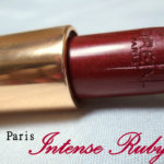 L'Oreal Paris Intense Ruby Lipstick Review, Swatches