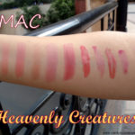 MAC Heavenly Creatures Lipsticks, Lipglasses Swatches