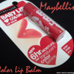 Maybelline Baby Lips Berry Crush Review, Swatches