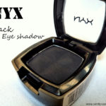NYX Single Eye Shadow Black Review, Swatches – The 5 Ways You Can Use It