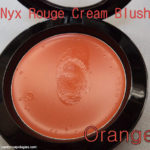 Nyx Rouge Cream Blush ORANGE Review, Swatches, FOTD