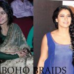 Kajol and her Bohemian Braids