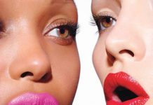 pink red lipsticks