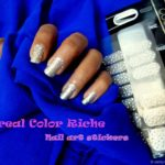 L'Oreal Color Riche Le Nail Art Sticker Review, Photos – Pearly Dress