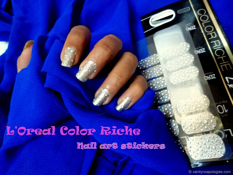 L\'Oreal Paris Color Riche Nail Art Sticker Review, Photos