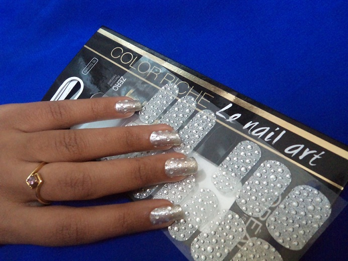l\'oreal nail art sticker2|Vanitynoapologies|Indian Makeup and Beauty ...