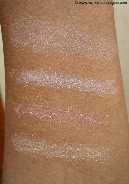 puff radiance swatches