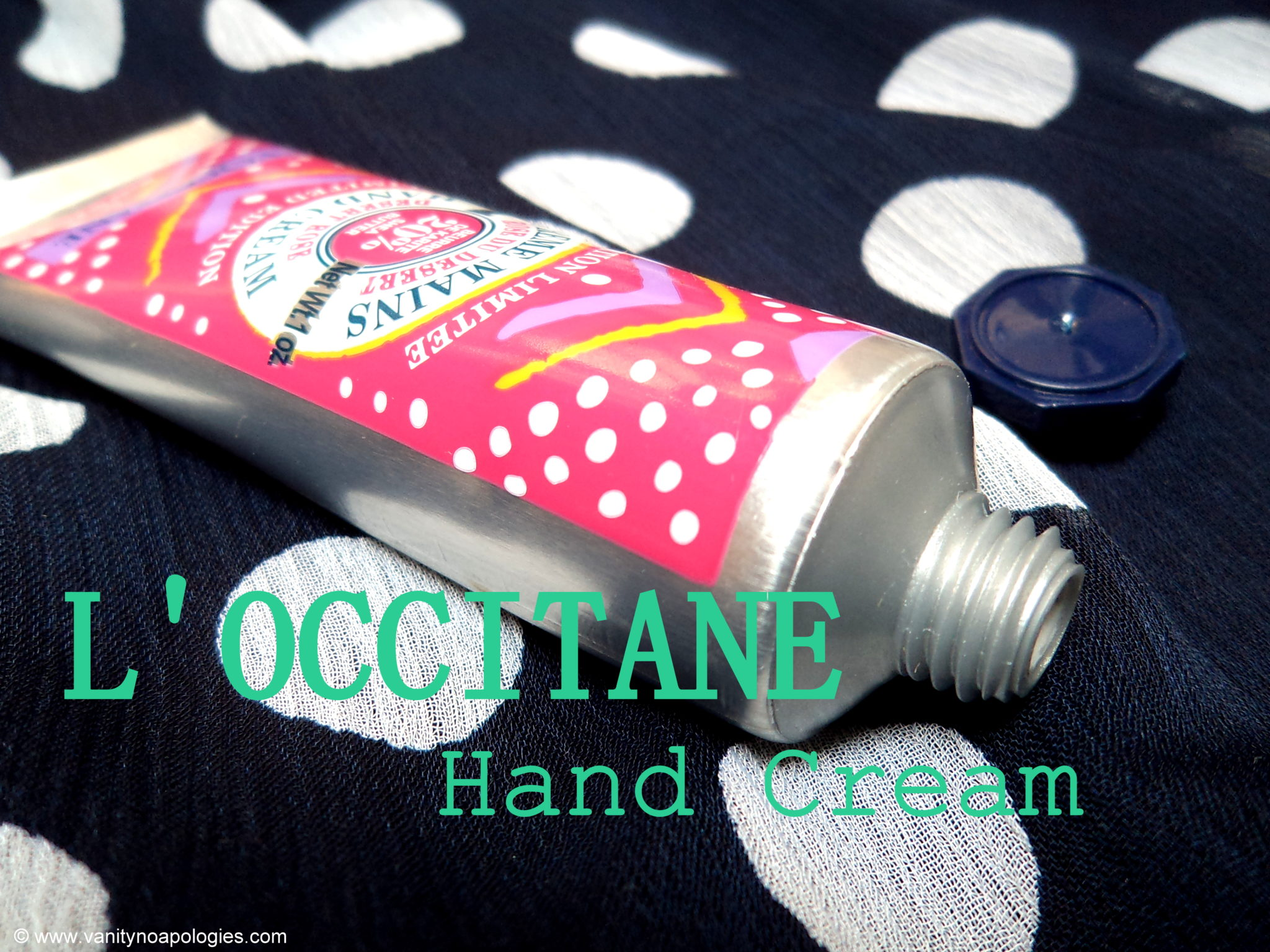 l 39 occitane hand cream review vanitynoapologies indian. Black Bedroom Furniture Sets. Home Design Ideas