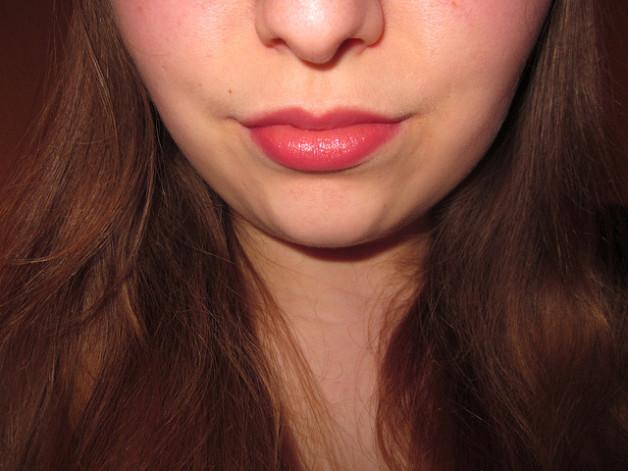 peach lipgloss