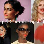 10 Best Orange Lipsticks for Indian Skin Tones