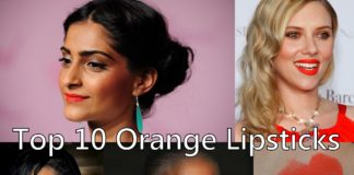 orange indian lipsticks