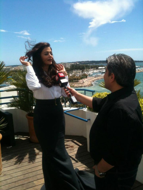 aishwarya cannes interviews