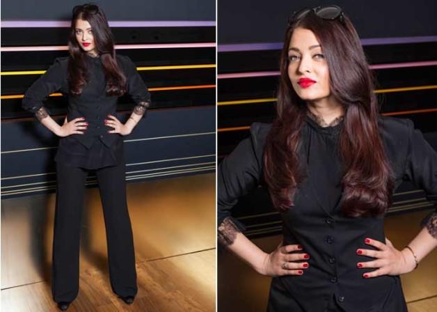 aishwarya black trousers