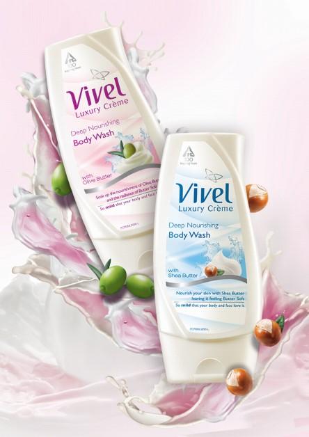 vivel body wash