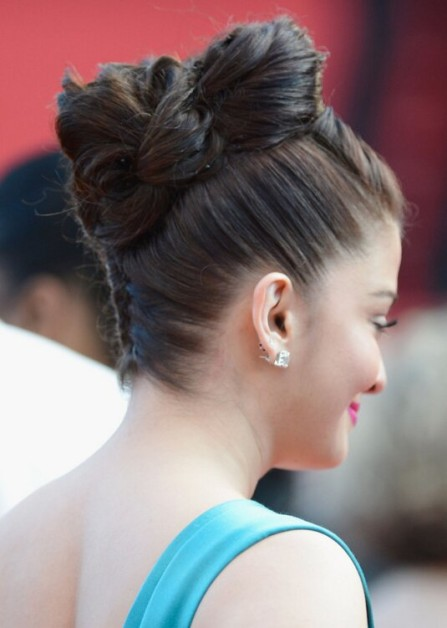 aishwarya cannes hair