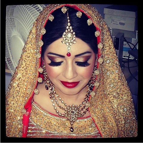 bad bridal makeup