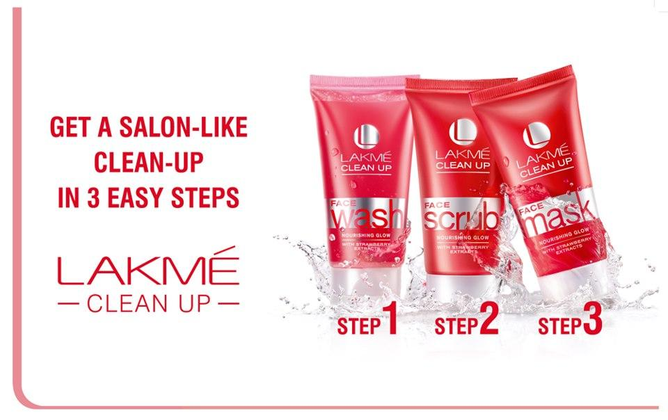 Lakme Clean Up 3 Steps Vanitynoapologies Indian Makeup And