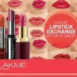 Lakme Lipstick Exchange Offer Is On!