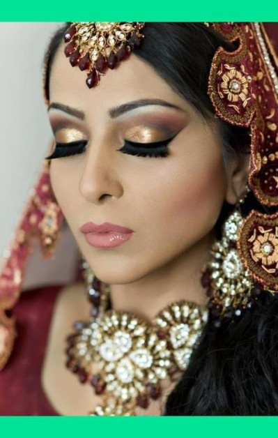 smokey eyes bridal