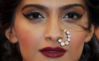 Sonam cannes makeup