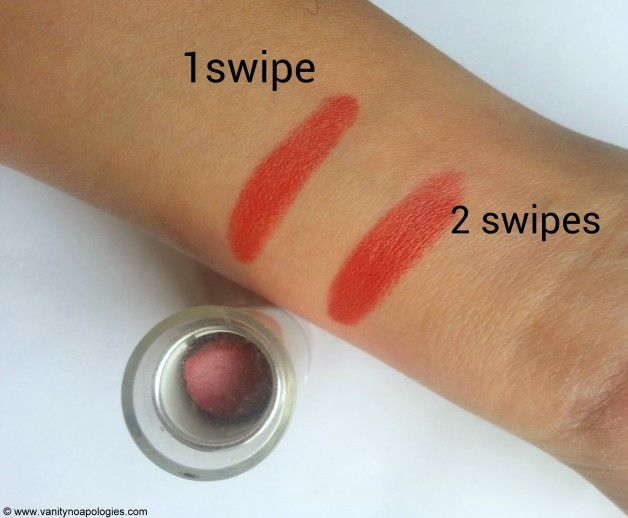 peach crush swatches