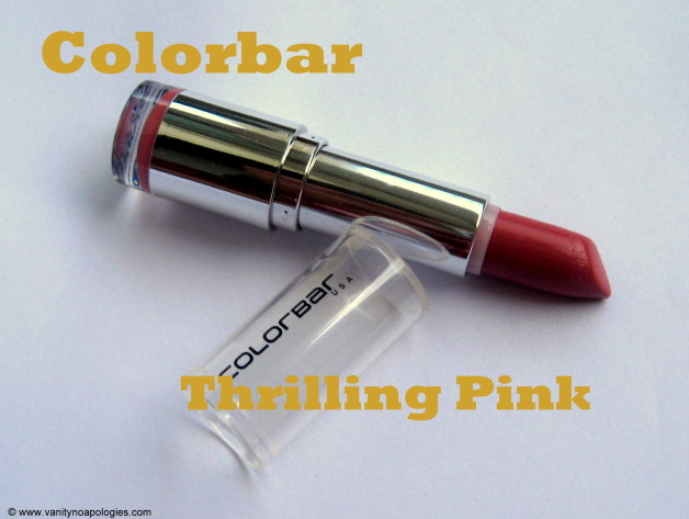 colorbar thrilling pink review