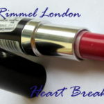 Rimmel London Lasting Finish Lipstick Heart Breaker Review and Swatches