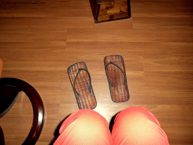 jute slippers flat