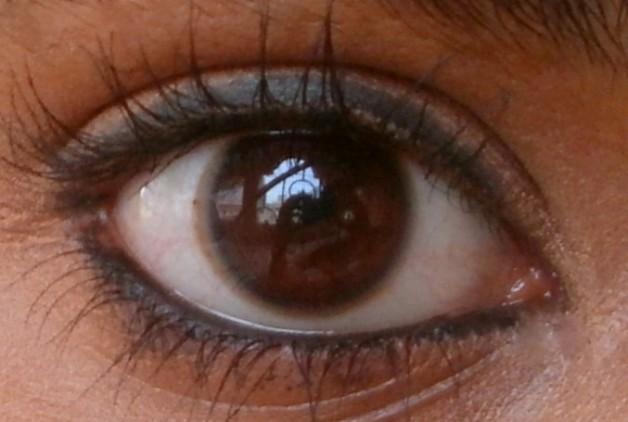 mac eye smolder swatches