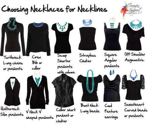 necklaces necklines