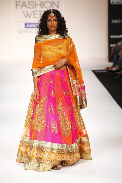 Just For Brides: Orange Pink And My Lehenga Search!
