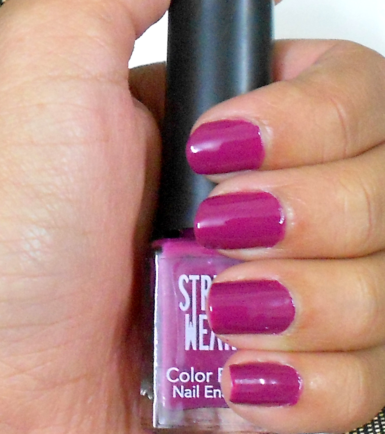 Street Wear Nail Polish Purple Magic