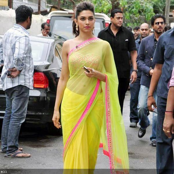 Deepika Padukone in Arpita Mehta saree