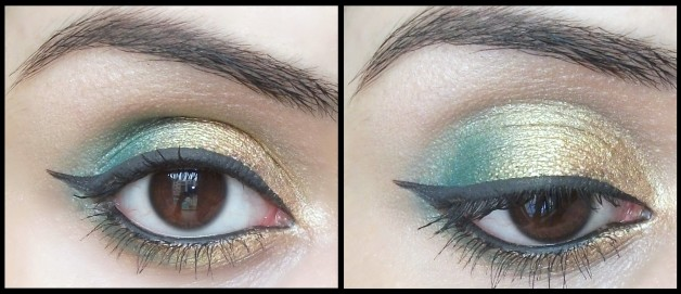 Inglot Freedom System Eyeshadow DS 504 Swatches and Eye Makeup