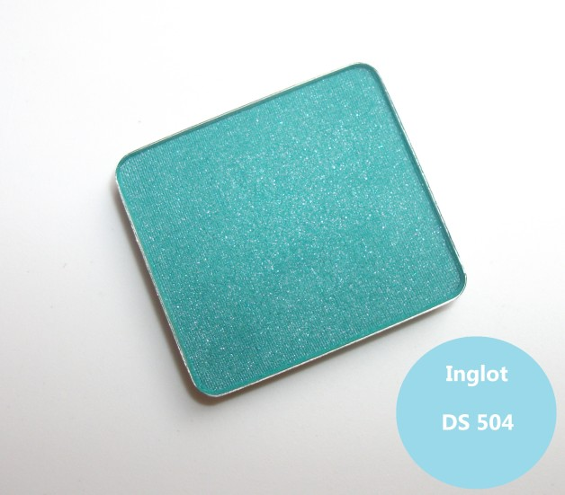 Inglot Freedom System Eyeshadow DS 504 Swatches Review