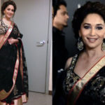 Madhuri Dixit iifa Awards 2013 saree