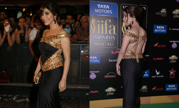 Sophie Choudry iifa Awards 2013 gown