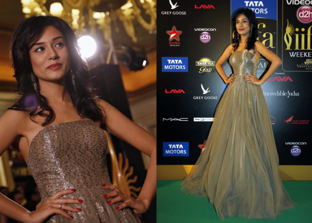 Amrita Rao iifa Awards 2013 gown