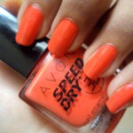 NOTD: Avon Speed Dry+ Nail Enamel Orange You Quick