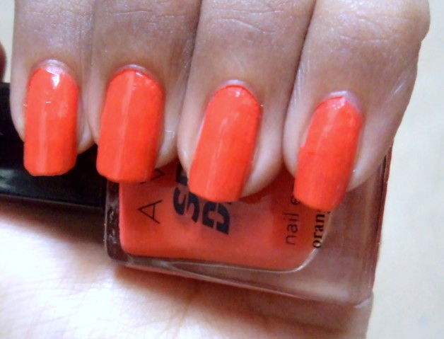 NOTD Avon Speed Dry+ Nail Enamel Orange You Quick