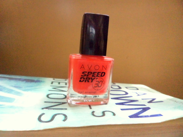Avon speed dry nail polish without flash