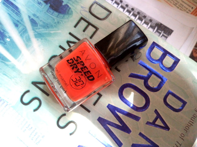 Avon speed dry nail enamel photo