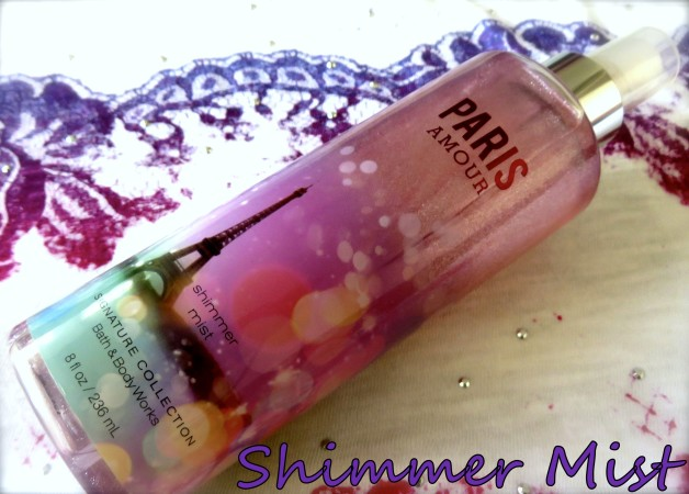 Bath and Body Works Paris Amour Shimmer Mist Review photo