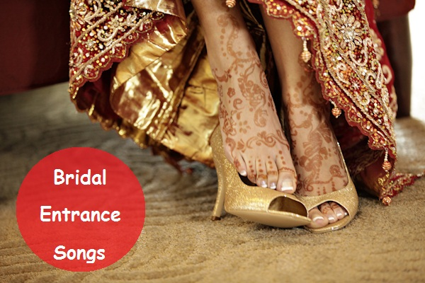 Popular Bridal Entrance Songs: 5 Best Hindi/Punjabi Bridal Entrance Songs