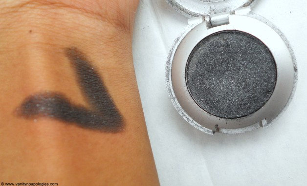 Colorbar Eyeshadow Black Tie Swatches