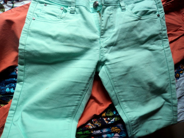 Summer pastel jeans in India